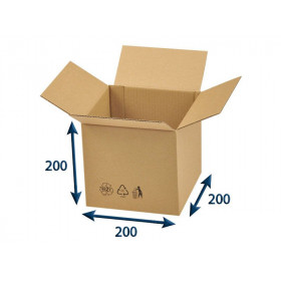 Kartonová krabice 200 x 200...