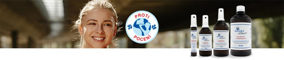 Antimikrobiální kosmetické přípravky Proti mykózám a nadměrnému pocení nohou